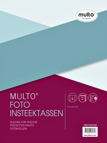 FOTOTAS MULTO A4 23R PP 0.12MM NERF 2VAKS A5 10 Stuk