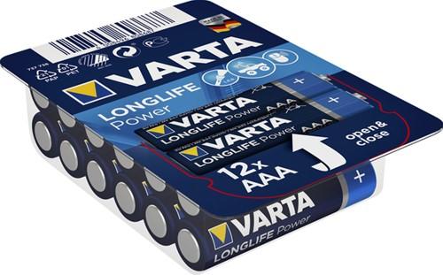 BATTERIJ VARTA AAA HIGH ENERGY BIG BOX 12 PACK 12 Stuk