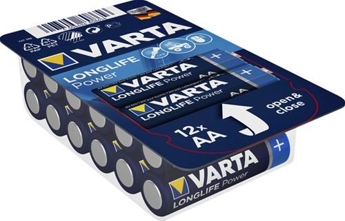 BATTERIJ VARTA AA HIGH ENERGY BIG BOX 12 PACK 12 Stuk