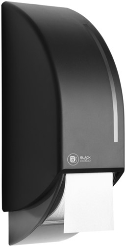 DISPENSER SATINO BLACK 331940 TOILETPAPIER 1 Stuk
