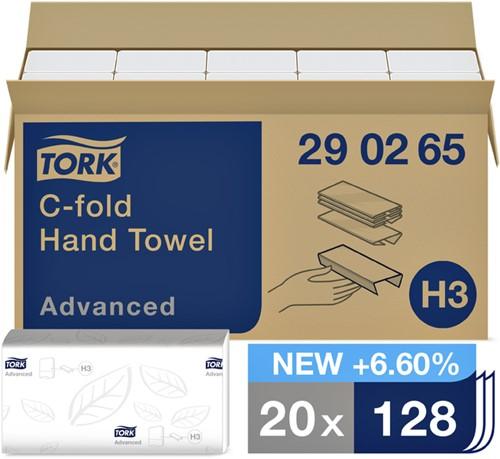 HANDDOEK TORK ADVANCED H3 C-VOUW 31X25CM 2560ST 290265 20 Stuk
