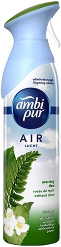 LUCHTVERFRISSER AMBI PUR MORNING DEW 300ML 300 ML