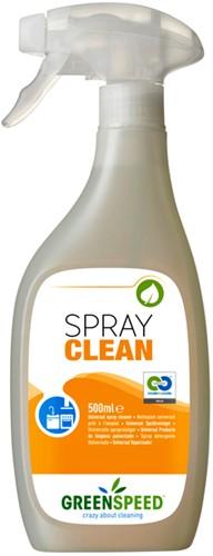 KEUKENREINIGER GREENSPEED SPRAY CLEAN 500ML 1 Fles