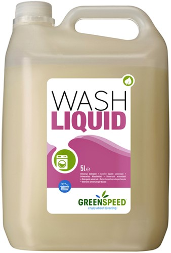 WASMIDDEL GREENSPEED WASH LIQUID 5 LITER 1 Fles