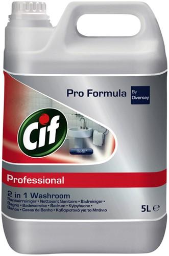 SANITAIRREINIGER CIF PROFESSIONAL  2IN1 5 LITER 5 Liter