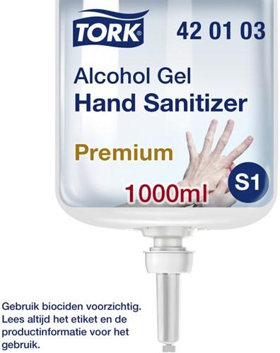 HANDZEEP TORK S1 420103 ALCOHOL GEL 1 LITER 1 Stuk