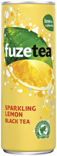 FRISDRANK FUZETEA SPARKLING LEMON TEA BLIKJE 0.25L 25 CL