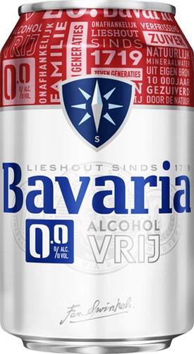 BIER BAVARIA 0.0 BLIKJE 0.33L 33 CL
