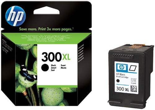 INKCARTRIDGE HP 300XL CC641EE HC ZWART 1 Stuk