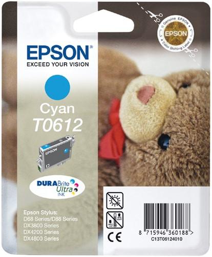 INKCARTRIDGE EPSON T061240 BLAUW 1 Stuk