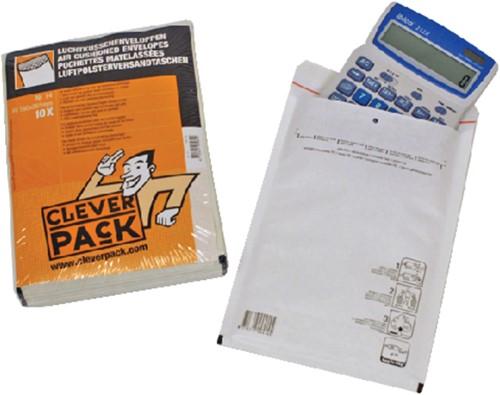 ENVELOP CLEVERPACK LUCHTKUSSEN 14 200X275 WIT 10 Stuk