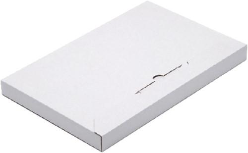 BRIEVENBUSBOX CLEVERPACK A4 350X230X26MM KARTON WT 5 Stuk