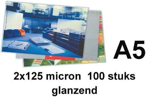 LAMINEERHOES GBC A5 2X125MICRON 100 Stuk