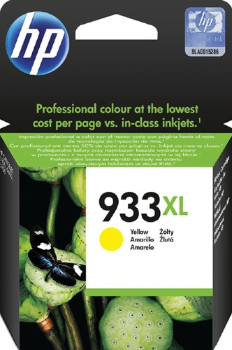 INKCARTRIDGE HP 933XL CN056AE HC GEEL 1 Stuk