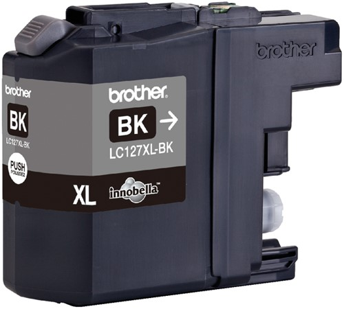 INKCARTRIDGE BROTHER LC-127XL ZWART 1 Stuk