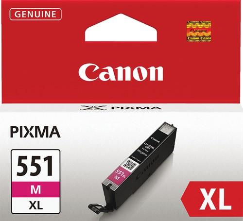 INKCARTRIDGE CANON CLI-551XL HC ROOD 1 Stuk