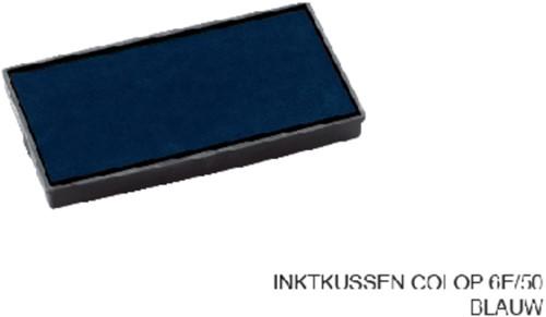INKTKUSSEN COLOP 6E/50 BLAUW 1 Stuk