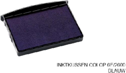INKTKUSSEN COLOP 6E/2600 BLAUW 1 Stuk