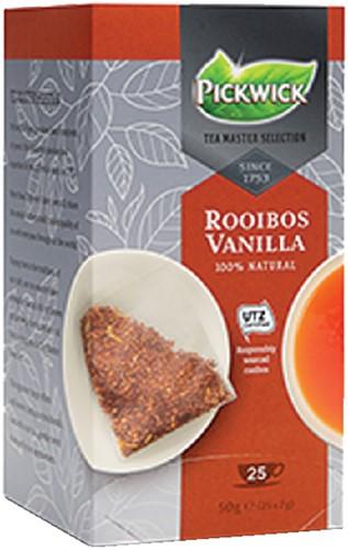 THEE PICKWICK TEA MASTER SEL ROOIBOS VANILLA 2GR 25 Stuk
