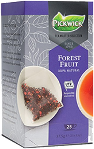 THEE PICKWICK TEA MASTER SEL FOREST FRUIT 1.5GR 25 Stuk