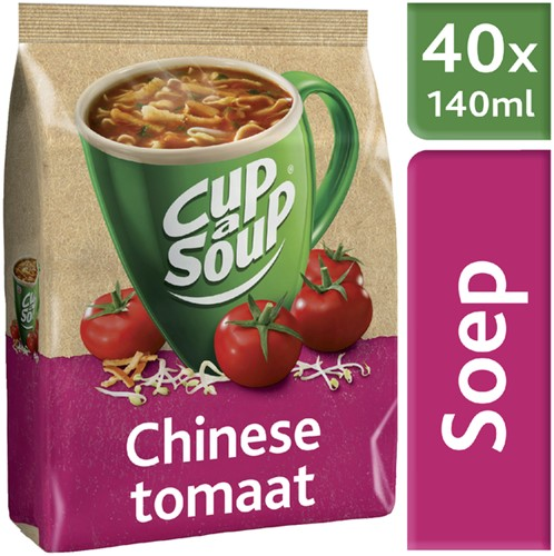 CUP A SOUP TBV DISPENSER CHINESE TOMAAT 40 PORTIES 40 Portie