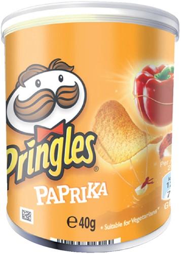 CHIPS PRINGLES PAPRIKA 40GR 1 Stuk