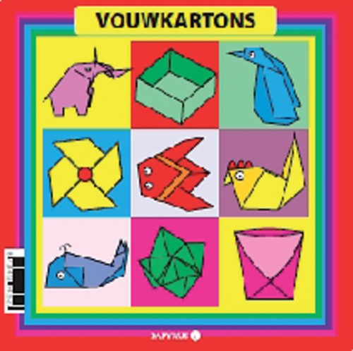 VOUWKARTON PAPYRUS VIERKANT 12X12CM 105GR 40 Vel