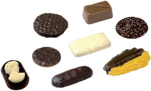 KOEKMIX ELITE CHOCOLATE SENSATION ASSORTI 120 Stuk