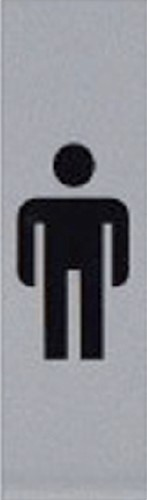 INFOBORD PICTOGRAM HEER 44X165MM 1 Stuk
