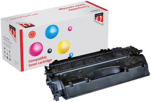 TONERCARTRIDGE QUANTORE HP CE505X 6.5K ZWART 1 Stuk
