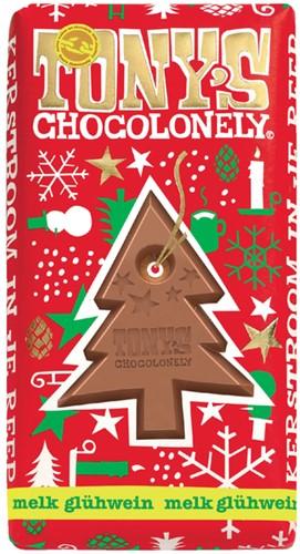 TONY'S CHOCOLONELY MELK GLUHWEIN 180GR 1 Stuk