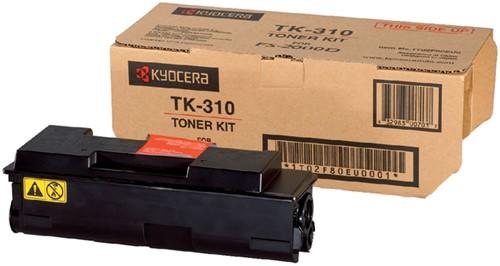 TONER KYOCERA TK-310 12K ZWART 1 Stuk