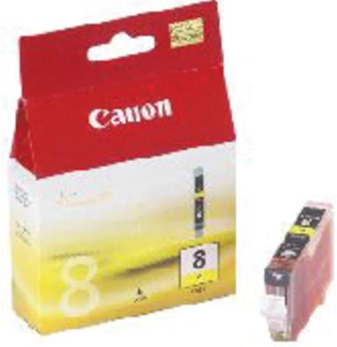 INKCARTRIDGE CANON CLI-8 GEEL 1 Stuk