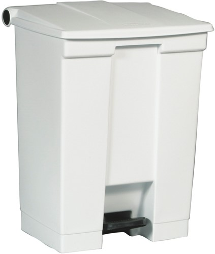 STEP ON CLASSIC CONTAINER, 68LT, RUBBERMAID, WIT